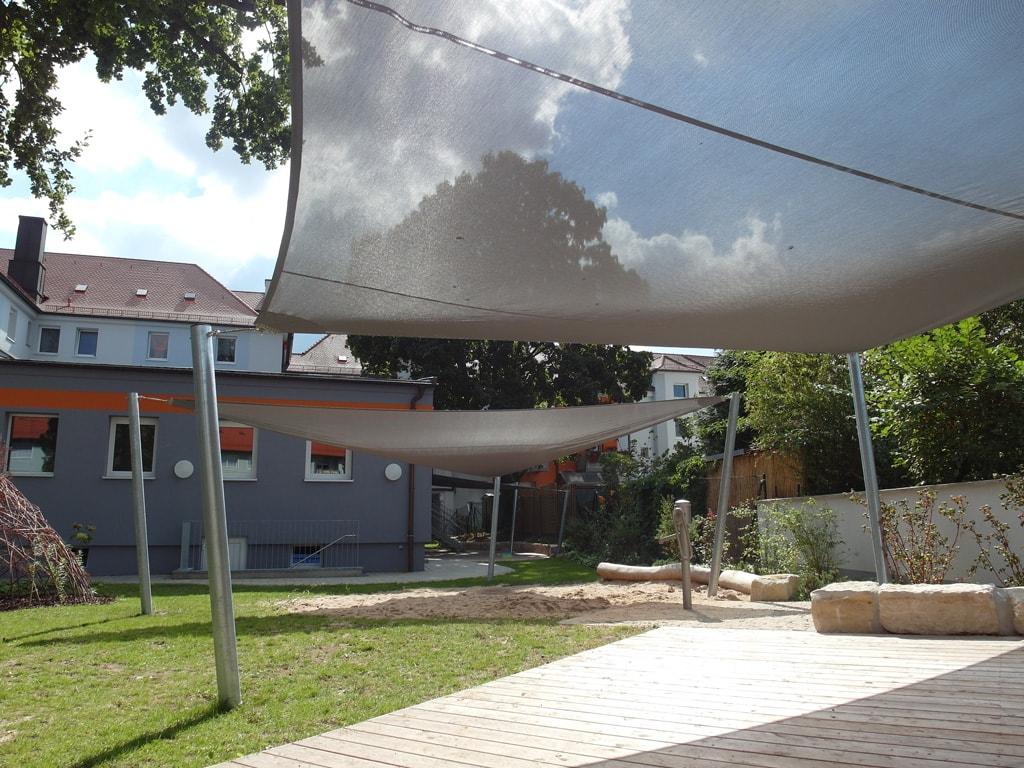 aufrollbare sonnensegel nach ma solarprotect. Black Bedroom Furniture Sets. Home Design Ideas