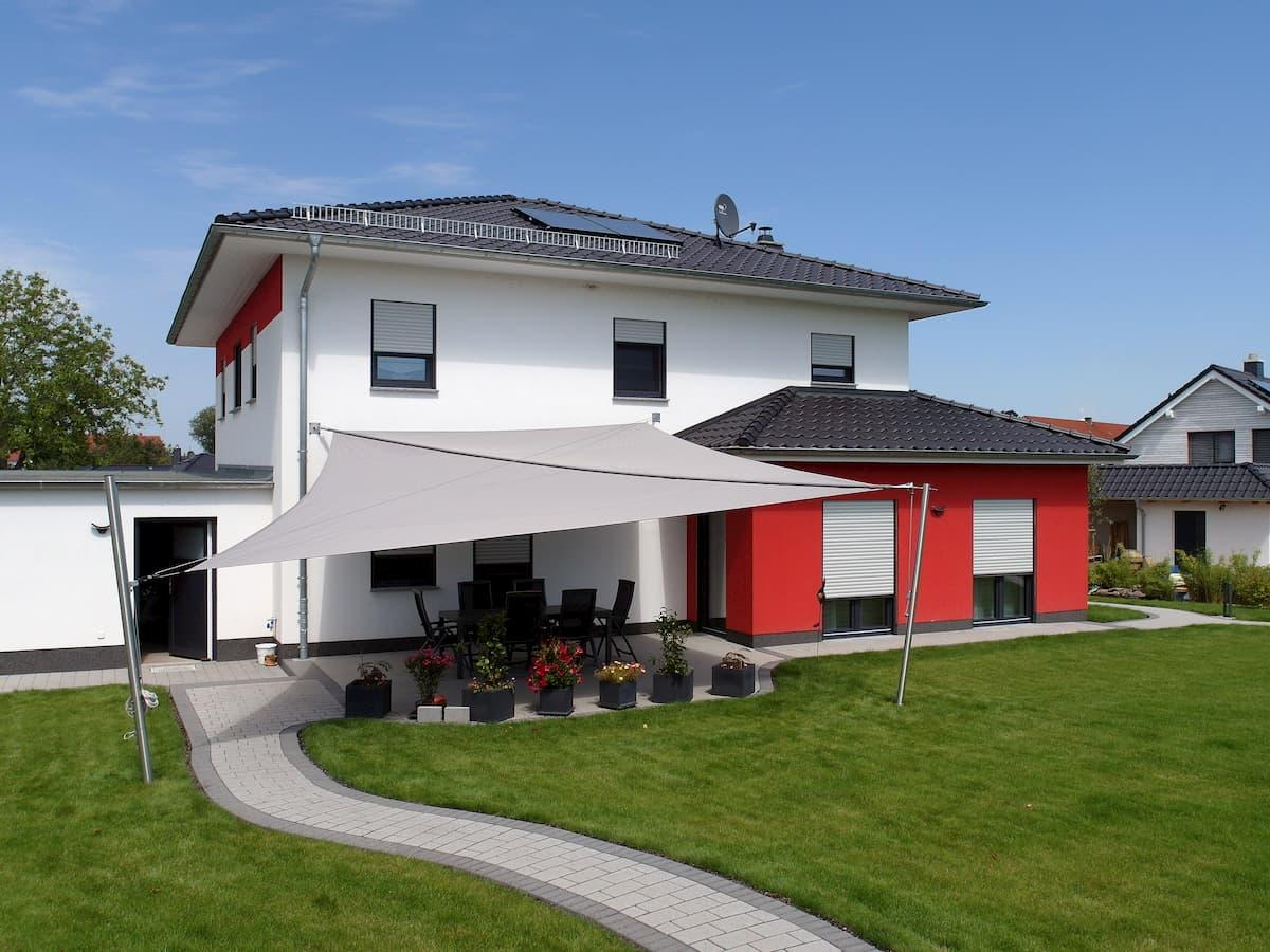 Sonnensegel Beschattung für Terrasse, Möbel und Pflanzen